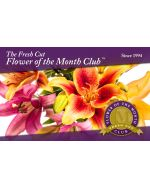 The Fresh-Cut Flower of the Month Club Gift Card